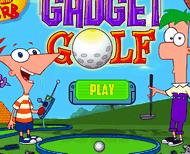 Игра Финес и Ферб играют в гольф
