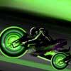 Неоновые гонки на мотоциклах