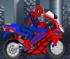 Игра Человек паук на мотоцикле