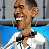 Игра Барак Обама на мотоцикле
