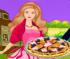 Барби готовим пиццу
