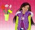 Барби цветочный магазин