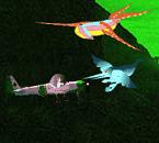 Игра Ben 10 сражение на самолете